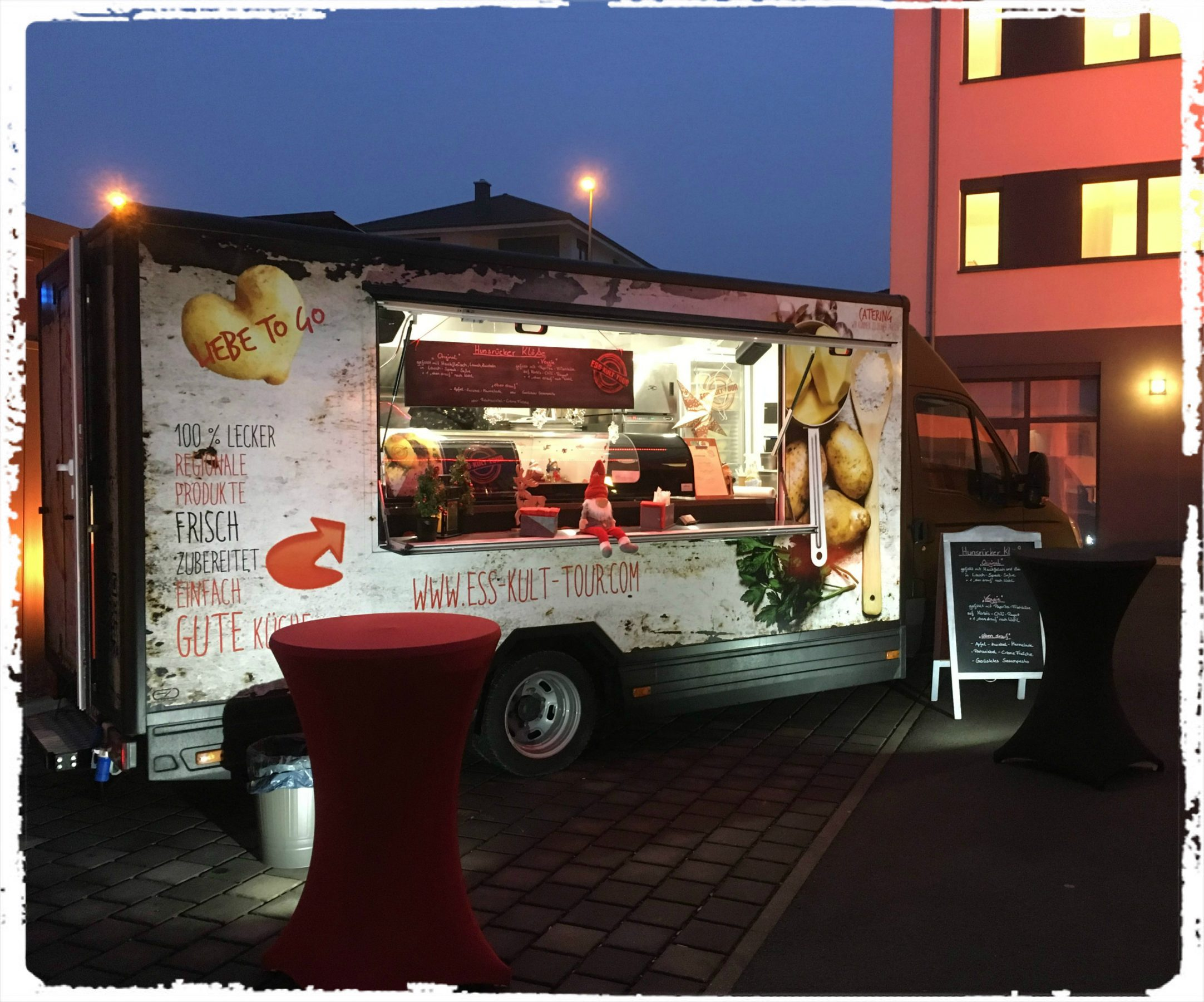 ess-kult-tour Food Truck in action