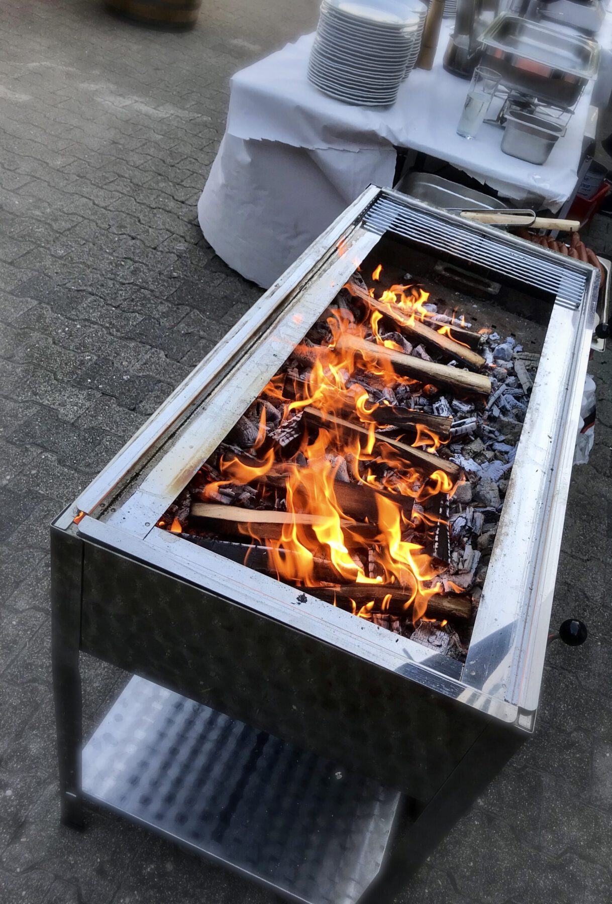 Grill Feuer